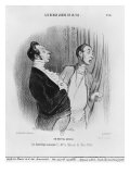 Series 'Les beaux jours de la vie', A New Nobleman, Illustration from 'Le Charivari', 2nd July 1845 Giclee Print by Honore Daumier