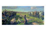 The Execution of the First Council of Berdyansk, 1935 Giclee Print by Lev Grigoryevich Neumark