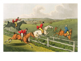 Fox Hunting, aquatinted by I. Clark, pub. by Thomas McLean, 1820 Giclee Print by Henry Thomas Alken