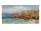 A Coastal Scene, 1881 Giclee Print by John Brett
