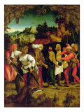 The Beheading of St. Paul, from a Polyptych Depicting Scenes from the Lives of Peter and Paul Giclee Print by Hans Suess Kulmbach