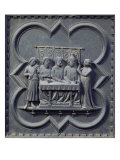 The Dance of Salome, Fifteenth Panel of the South Doors of the Baptistery of San Giovanni, 1336 Giclee Print by Andrea Pisano