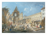 Demolition of the Couvent des Cordeliers, c.1802 Giclee Print by Pierre-Antoine Demachy
