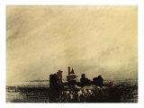 Feudal Ruins Giclee Print by Victor Hugo