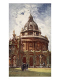 The Radcliffe Library, or Camera Bodleian, from All Soul's College, 1903 Giclee Print by John Fulleylove