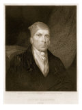 James Madison aged 82, engraved by Thomas B. Welch Giclee Print by James Barton Longacre
