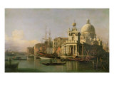 A view of the Dogana and Santa Maria della Salute Giclee Print by Antonio Canaletto