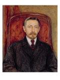 Portrait of Ivan A. Bunin Giclee Print by Evgeniy Iosipovich Bukovetsky