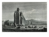 Ruins of the Aqueduct of Appius Claudius, Rome Giclee Print by Francois Louis Francais