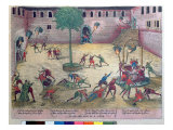 The 'Michelade' at Nimes on 29th and 30th September 1567 Giclee Print by Franz Hogenberg