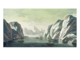 Zuidhaven at Spitsbergen Giclee Print by Paolo Fumagalli