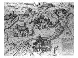Le Sette Chiesa di Roma, 1575 Giclee Print by Antonio Lafreri