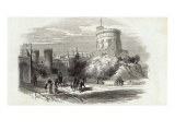 Windsor Castle - the Round Tower, from The Illustrated London News, 26th September 1846 Giclee Print