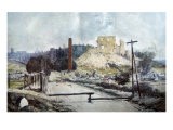 Coucy-le-Chateau, 1917 Giclee Print by Francois Flameng