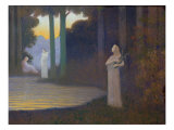 Lyricism in the Forest, 1910 Giclee Print by Alphonse Osbert