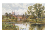 The Millpond, 1901 Giclee Print by Alfred Augustus Glendening