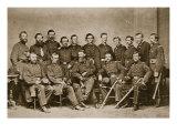 General F. P. Blair and Staff, 1861-65 Giclee Print by Mathew Brady & Studio