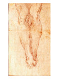 Study for a Crucifixion Giclee Print by  Michelangelo Buonarroti