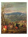 Louis XIV Giclee Print by Adam Frans van der Meulen