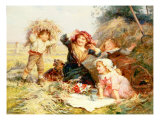 The Haymakers Giclee Print by Frederick Morgan