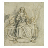 Madonna and Child Giclee Print by Hans Holbein the Elder