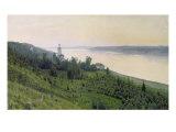 Cold Landscape, 1889 Giclee Print by Isaak Ilyich Levitan
