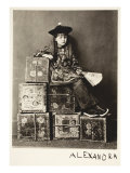 Alexandra Kitchen as 'A Chinaman', 14th July 1873 Giclee Print by Charles Lutwidge Dodgson