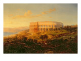 The Arena in Pola Giclee Print by Bernard Friedler