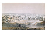 Kano, Nigeria, in 1851, 'Travels and Discoveries in North and Central Africa' by Heinrich Barth Giclee Print by Johann Martin Bernatz