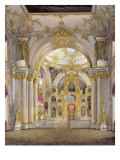 The Great Church, Winter Palace Giclee Print by Eduard Hau