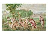 The Flaying of Marsyas, c.1616-18 Lámina giclée por  Domenichino