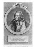 Portrait of Voltaire, from a Drawing by Denon Made on 6th July 1775 Giclee Print by Dominique Vivant Denon