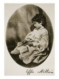 Effie Millais, 20th July 1865 Giclee Print by Charles Lutwidge Dodgson