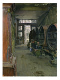In the Vinegar Factory in Hamburg, 1891 Giclee Print by Gotthardt Johann Kuehl