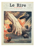 Front Cover of 'Le Rire Rouge', 6 March 1915 Giclee Print by Henri Lanos
