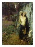 Death of Orpheus Giclee Print by Pascal Adolphe Jean Dagnan-Bouveret