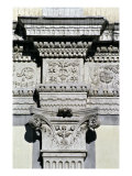 Entablature and Pilaster Capital from the Courtyard Giclee Print
