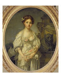 The Broken Pitcher, c.1772-73 Giclee Print by Jean-Baptiste Greuze