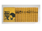 Cover and Spine Designs for 'The Yellow Book', Volumes II-XIII, published 1894-97 Impresso gicle por Aubrey Beardsley