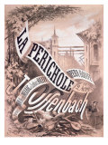 Poster for 'La Perichole', an Operetta by Jacques Offenbach Giclee Print by A. Jannin