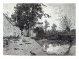 After the rain, from 'Leisure Hour', 1888 Giclee Print by J.M. Barnsley