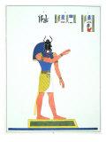 The God, Khepri, 1823 Giclee Print by Jean Francois Champollion