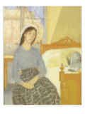 The Artist in her Room in Paris Giclee Print by Gwen John