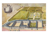 View of the Prytanee Imperial, formerly the Jesuit College in La Fleche, c.1810 Giclee Print