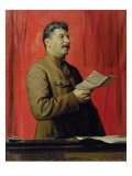 Portrait of Josif Stalin, 1933 Giclee Print by Isaak Israilevich Brodsky