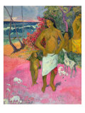A Walk by the Sea, 1902 Giclee Print by Paul Gauguin