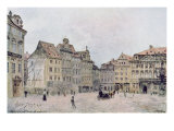 View of the North East Side of the Staromestsky Rynk in 1896, from 'Stara Praha' Giclee Print by Vaclav Jansa