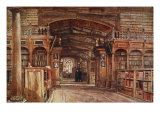 Interior of the Bodleian Library, 1903 Giclee Print by John Fulleylove