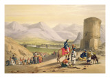 The Valley of Maidan, from 'Sketches in Afghaunistan', engraved by Charles Haghe Giclee Print by James Atkinson