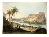 Two Temples at Abu Simbul, from Plates Illustrative of Researches in Egypt and Nubia Giclee Print by Giovanni Battista Belzoni